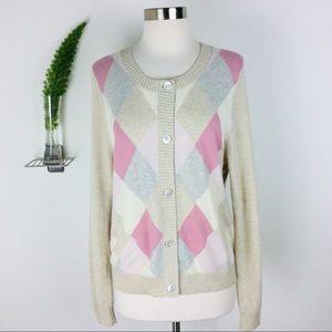 Talbots Beautiful Comfy Lambswool Mix Sweater (XL)